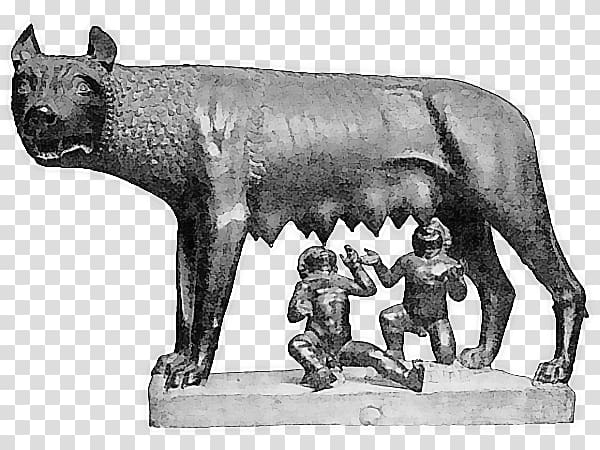 Capitoline Wolf Capitoline Museums Ancient Rome Palatine.