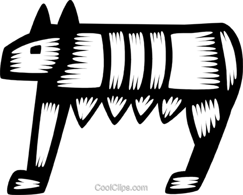Romulus and Remus Royalty Free Vector Clip Art illustration.