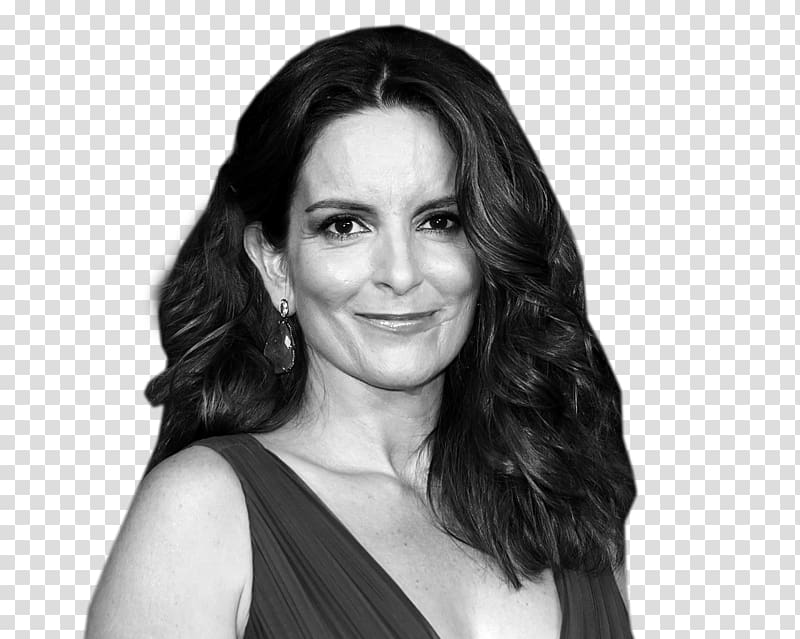 Tina Fey Black and white Anchorman: The Legend of Ron.