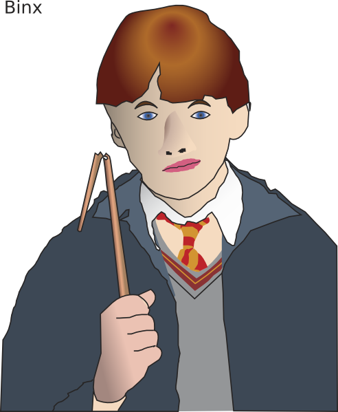 Ron Weasly Clip Art at Clker.com.