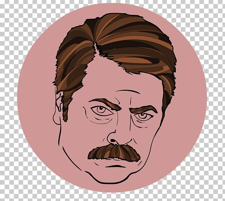 Nick Offerman Ron Swanson Parks And Recreation Leslie Knope.