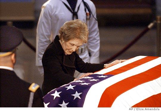 Ronald Reagan funeral.