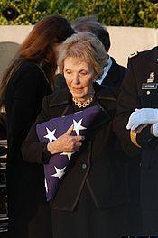 In Profile: Nancy Reagan.