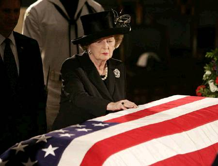 The Iron Lady, Margaret Thatcher died following a stroke.