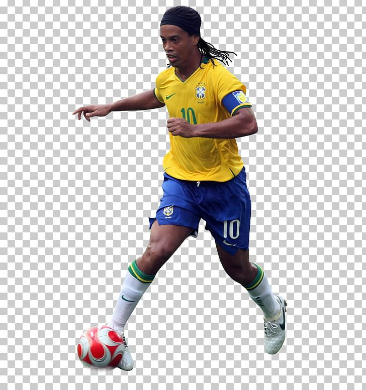 Ronaldinho Team Sport Football Player PNG, Clipart, Ball.