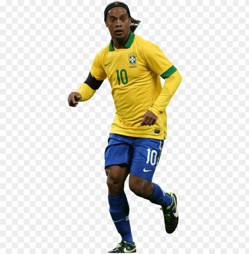 ronaldinho PNG image with transparent background.