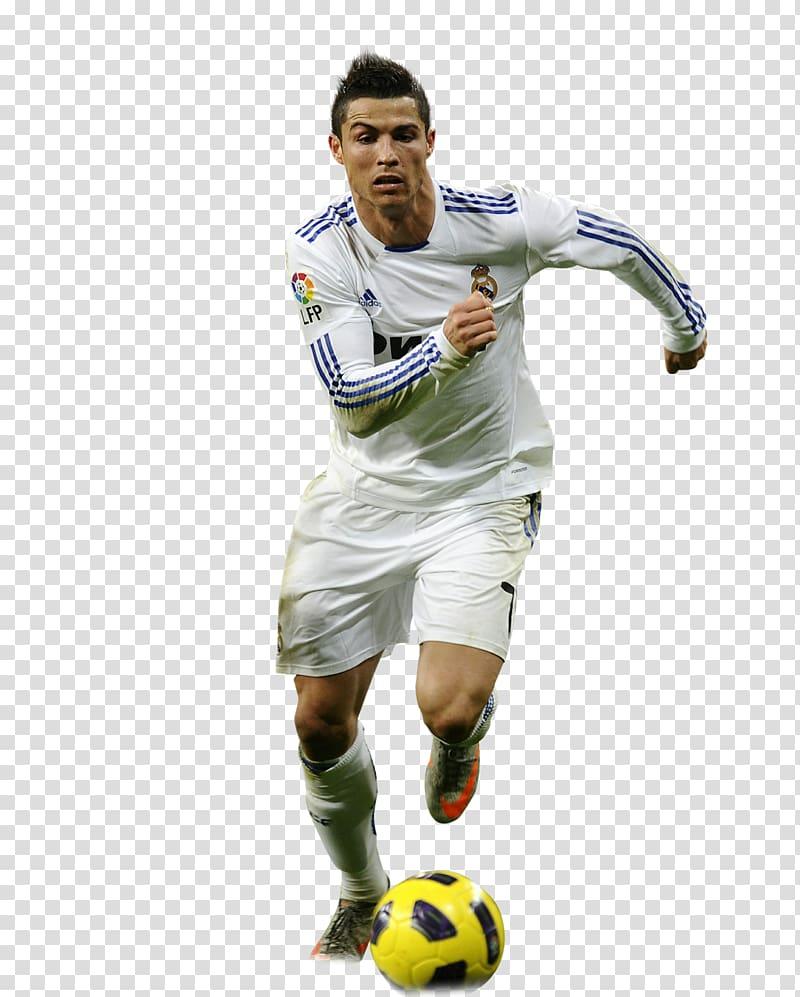 Man playing soccer, Cristiano Ronaldo La Liga Portugal.