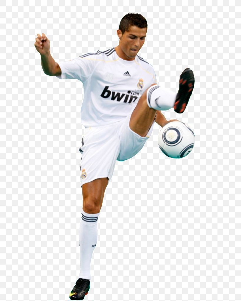 Cristiano Ronaldo Real Madrid C.F. Athlete Football Player.