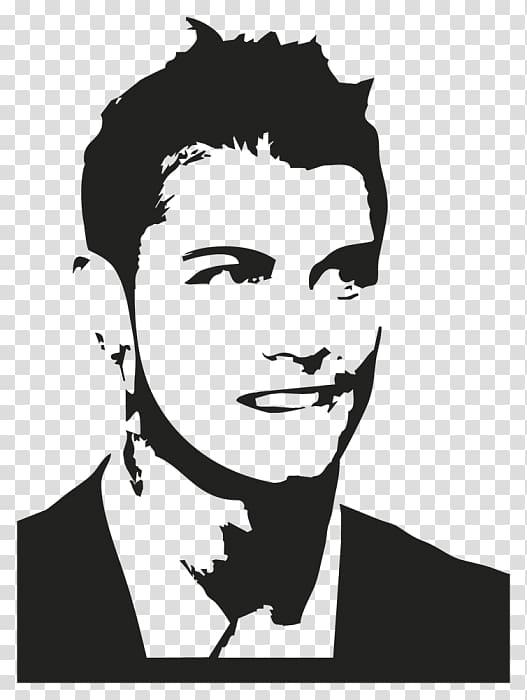 Cristiano Ronaldo silhouette art, Cristiano Ronaldo Real.