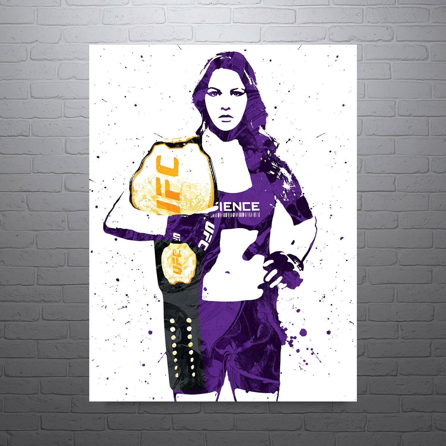 Ronda rousey clipart.