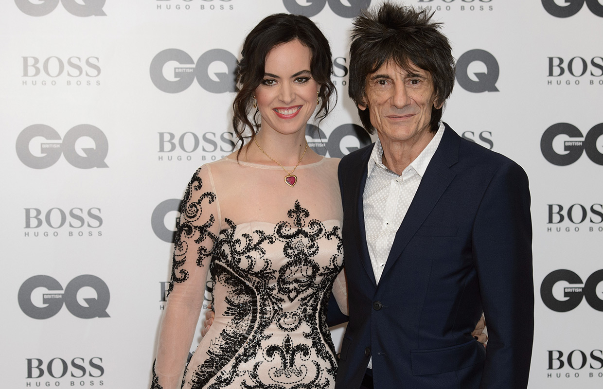 Rolling Stones rocker Ronnie Wood welcomes twin girls at 68.
