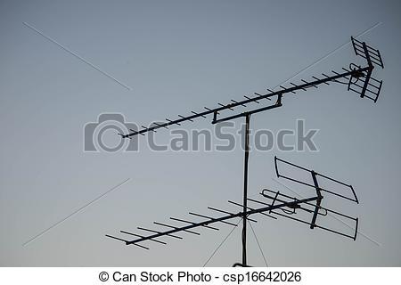 Clip Art of Antenna..