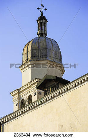 Stock Photo of A church tower; Venice, Italy 2353404.