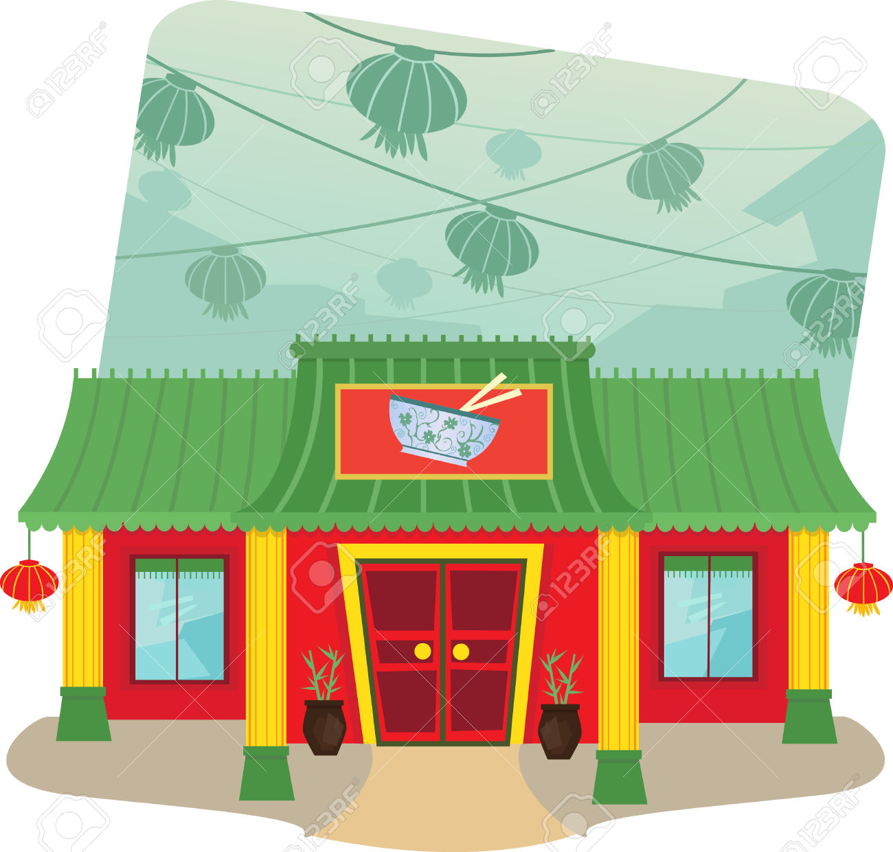 6,598 Chinese Restaurant Stock Illustrations, Cliparts And Royalty.