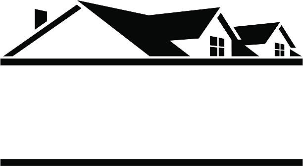 Roofing Logo Clipart.