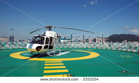 Helicopter Pad Stock Photos, Royalty.