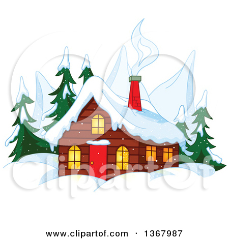 Clipart 3d Houses With Red Green Blue And Yellow Roof Tops.