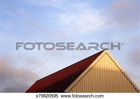 Stock Image of Peak of building x75620595.