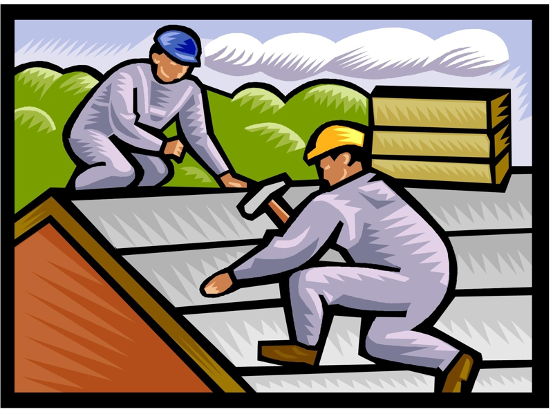 Showing post & media for Roofing clip art for flyers.