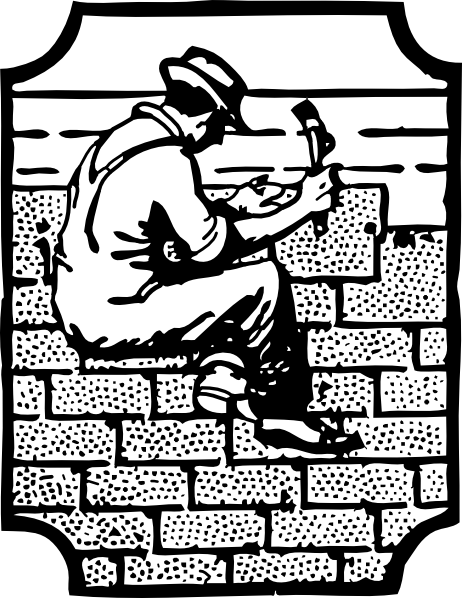 Roofer Worker Employee Clip Art at Clker.com.