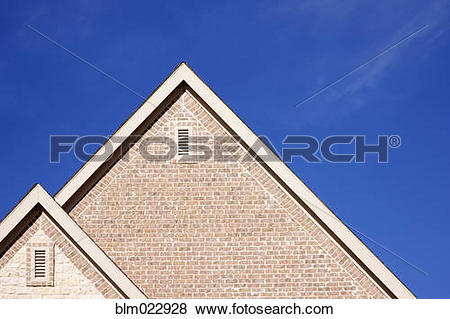 Pictures of Fascia and Ridge of Gable Roof blm022928.