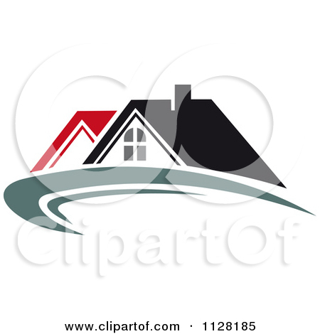 Clipart Of Houses With Roof Tops 8.