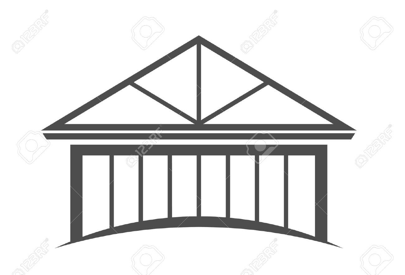 House Frame Clip Art.