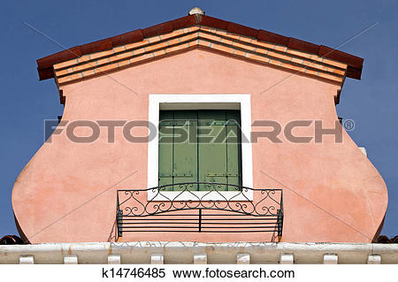 Stock Image of colorful roof window k14746485.