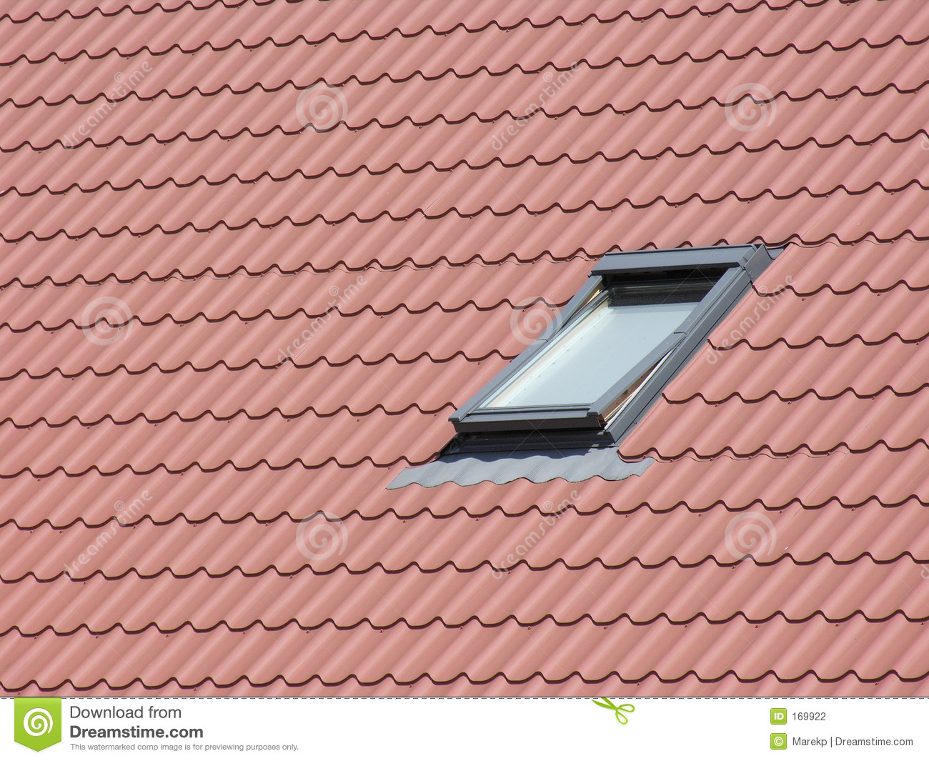 Roof Window Stock Photography.