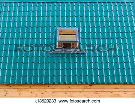 Stock Photo of roof window k18520233.
