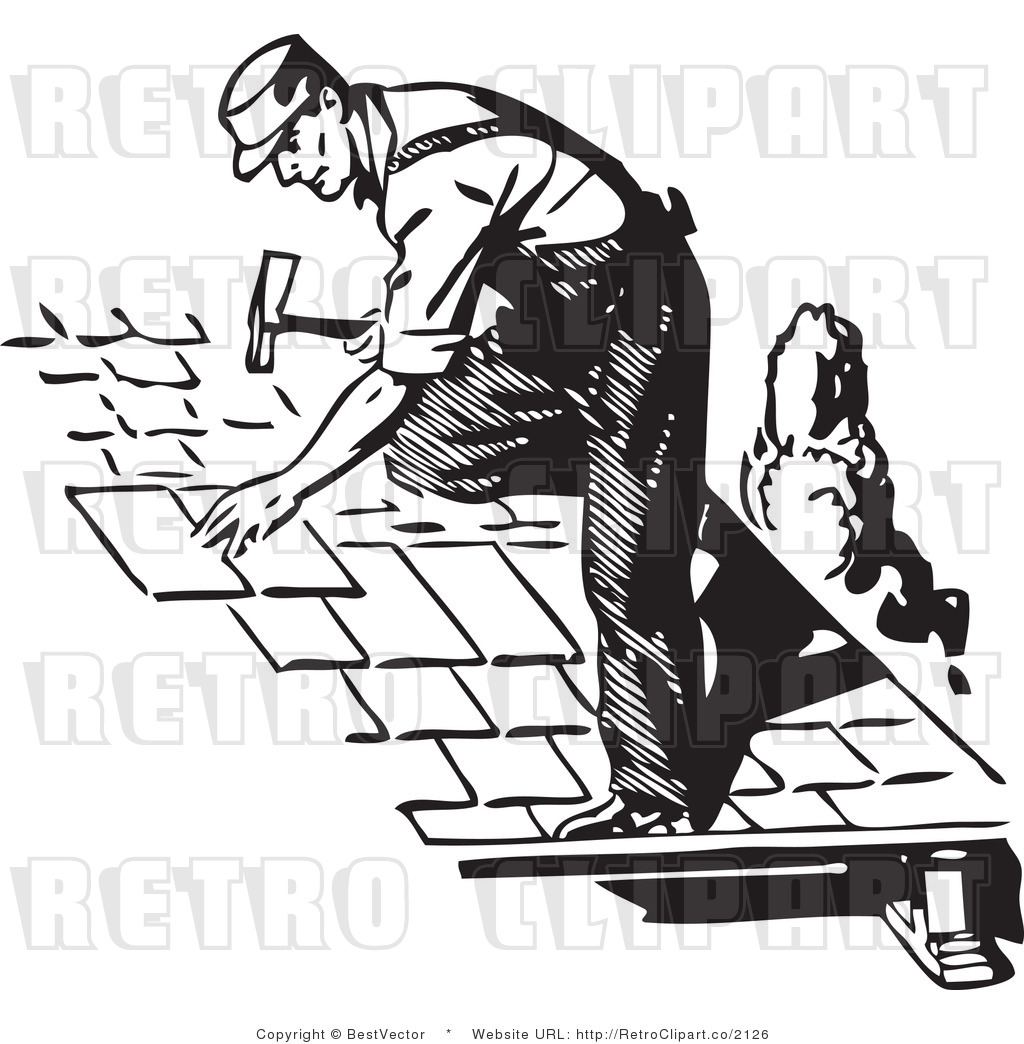 Free roofers clipart images.