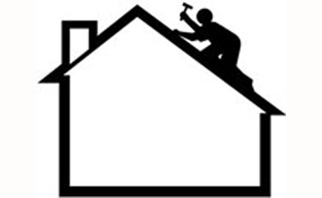 Roofing Contractor Clipart.