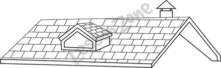 Rooftop clipart black and white images gallery for Free.