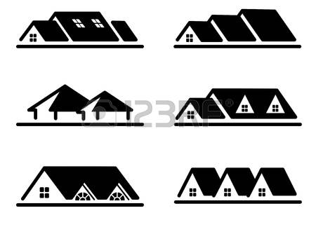9,097 Roof Line Stock Vector Illustration And Royalty Free Roof.