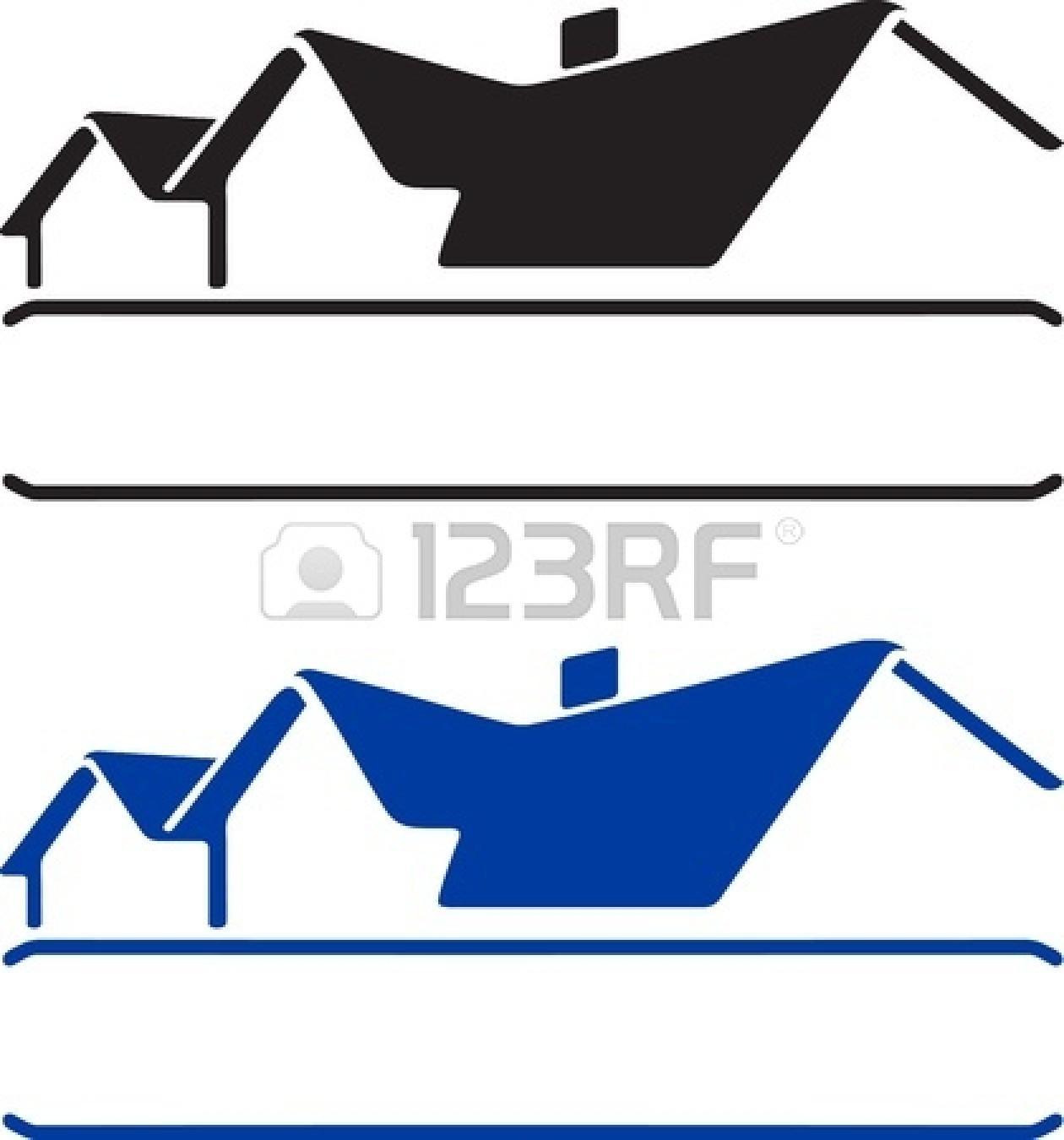 Roofline logo clipart.