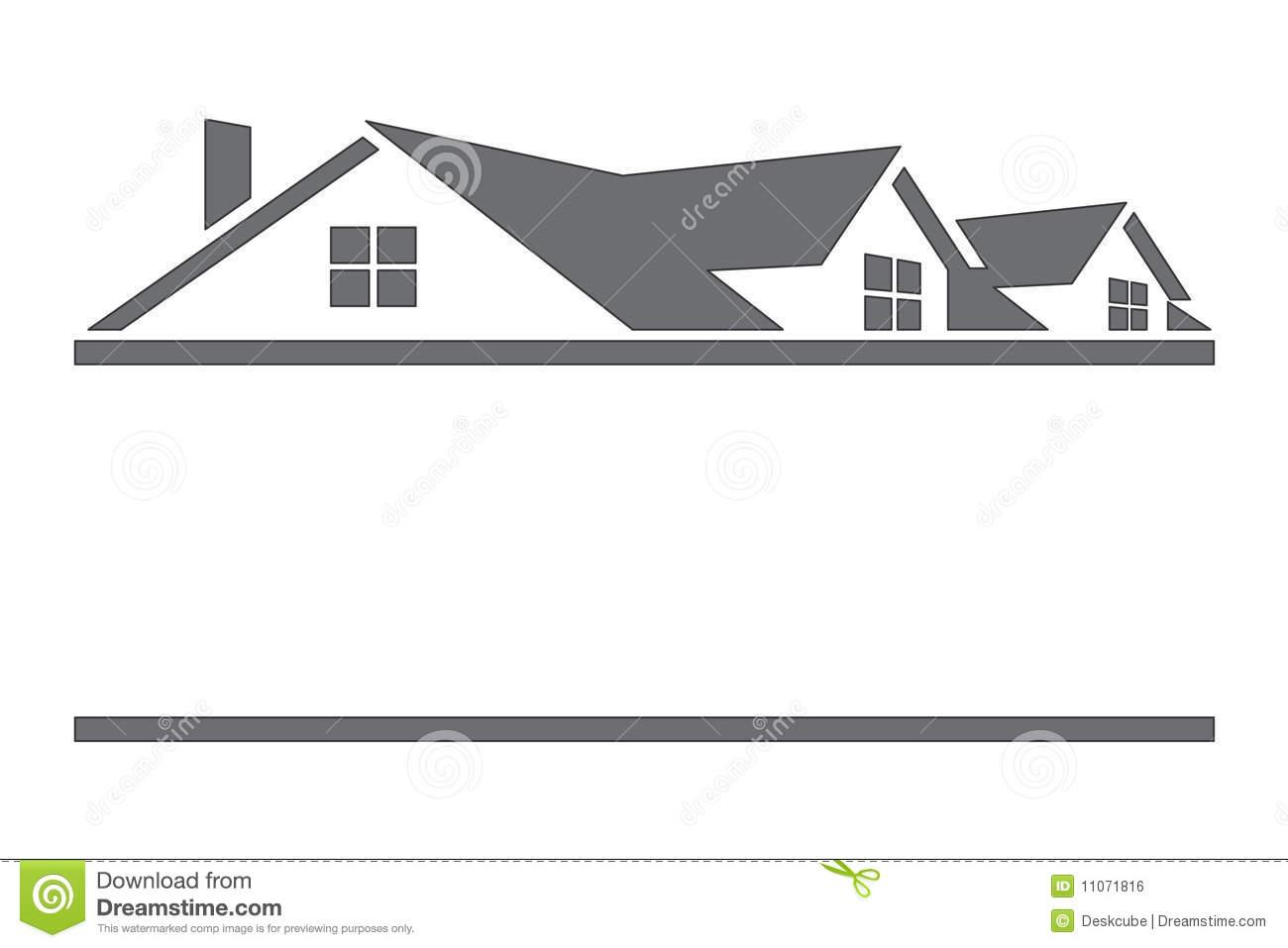 House Roof Line House Roof Clipart.