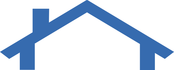 House Roof Outline Clipart.