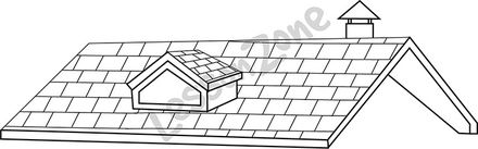 Roof clipart black and white 1 » Clipart Station.