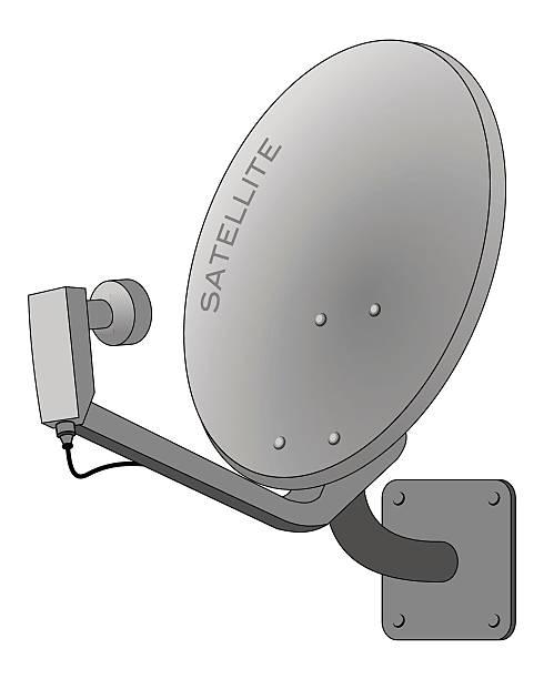 Dish Tv Clip Art, Vector Images & Illustrations.
