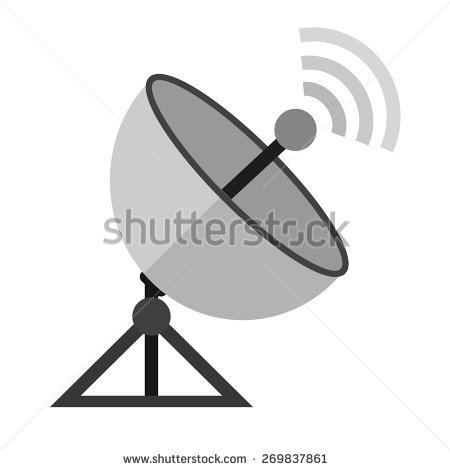 Satellite Dish Stock Photos, Royalty.