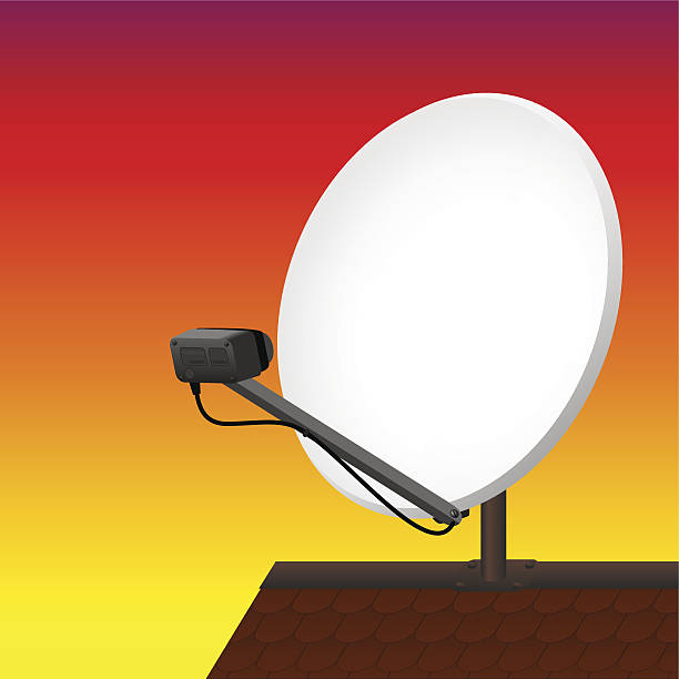 Satellite Dish Roof Clip Art, Vector Images & Illustrations.