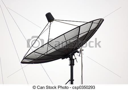 Stock Photos of satellite dish.