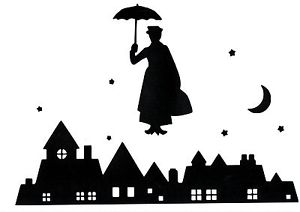 Rooftop Silhouette Clipart.
