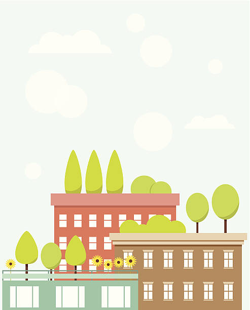 Rooftop Terrace Clip Art, Vector Images & Illustrations.