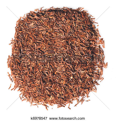 Picture of African red Rooibos tea leaves k6978547.