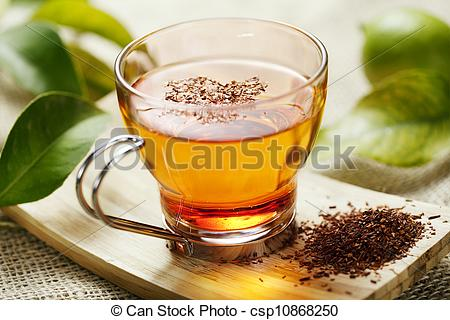 Stock Images of rooibos tea.