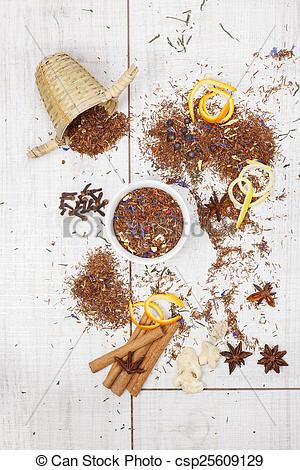Stock Photo of Rooibos tea..