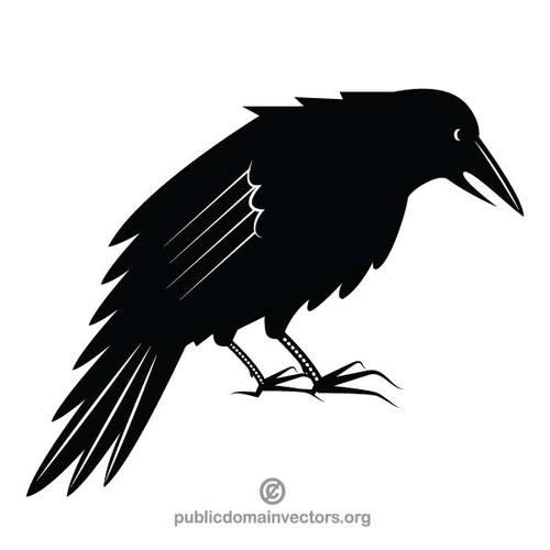 5271 bird clipart silhouette.