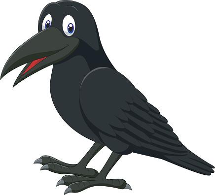 Cartoon Blackbird.