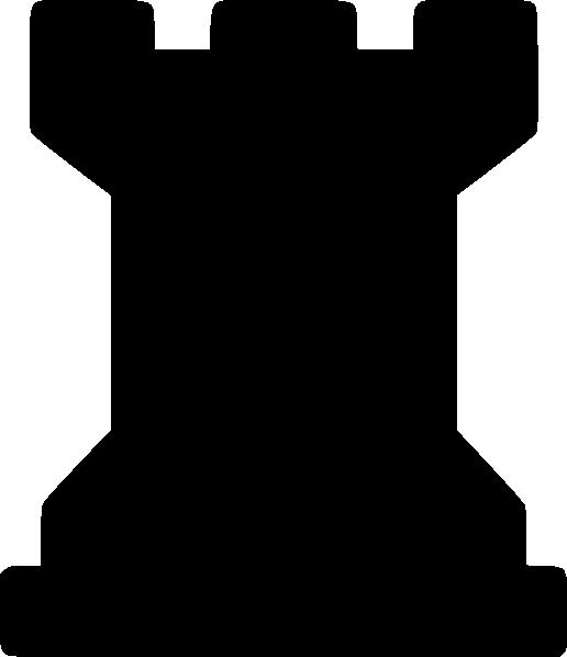 Black Rook Clip Art at Clker.com.
